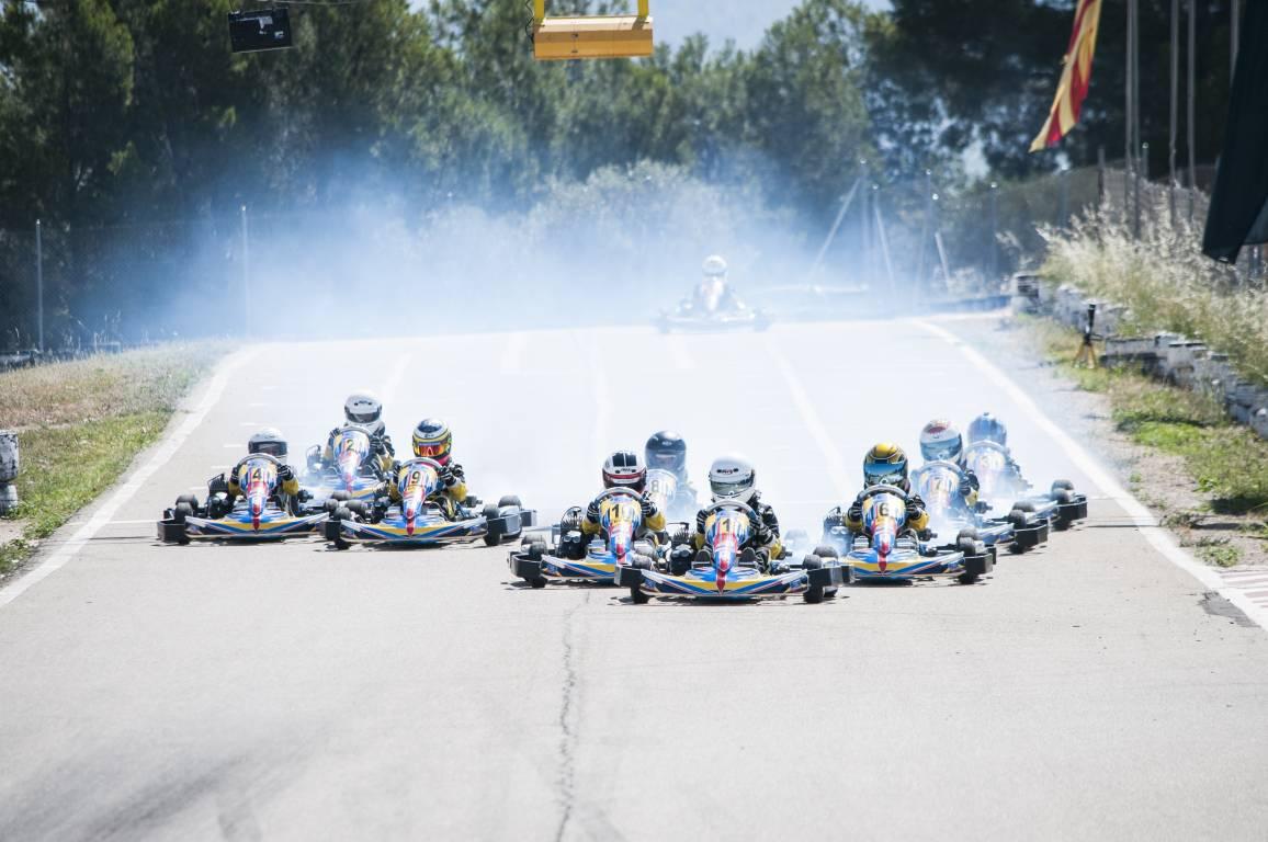 El Kàrting Mora acull la tercera cita del Campionat de Catalunya