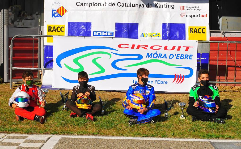 El Circuit de Mora d'Ebre clou la temporada del Campionat de Catalunya de kàrting