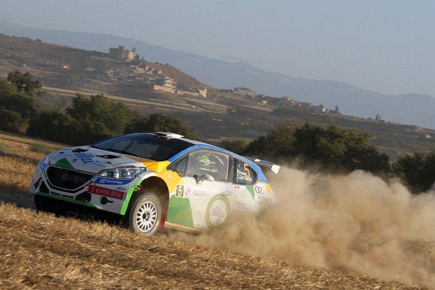 Triomf de Xevi Pons i Carlos del Barrio (Peugeot 208 T16) al 18è. Ral·li Ciutat de Cervera