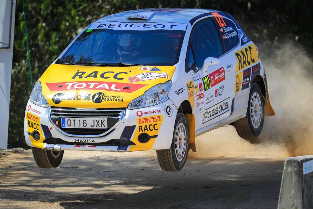 Triomf de Josep Bassas i Àxel Coronado en la Peugeot Rally Cup Ibérica al ral·li de Portugal