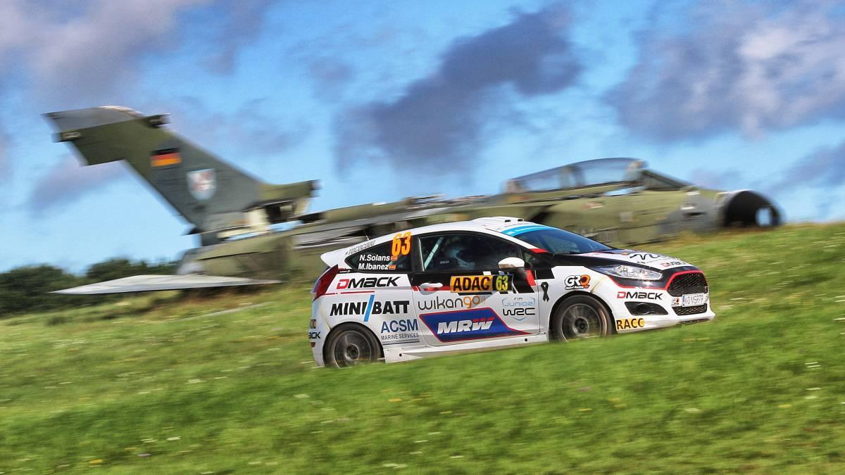 Nil Solans i Miquel Ibáñez, campions del món de ral·lis en categoria WRC3