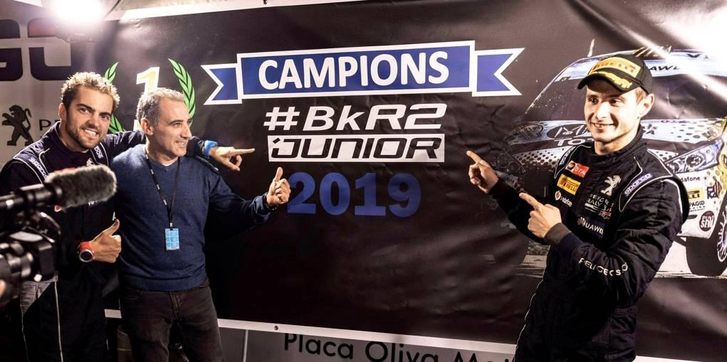 Victòria mundialista de Pep Bassas, nou campió de la BKR2