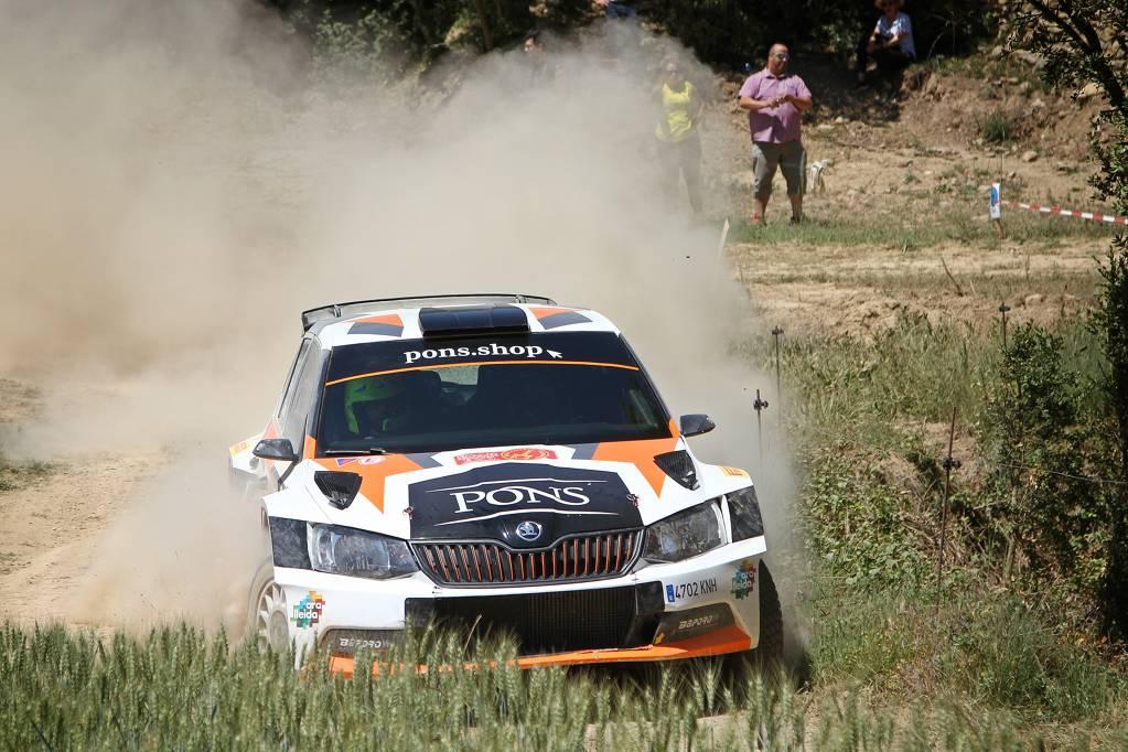 Eduard Pons guanya amb solvència el recuperat ral·li de terra del Solsonès