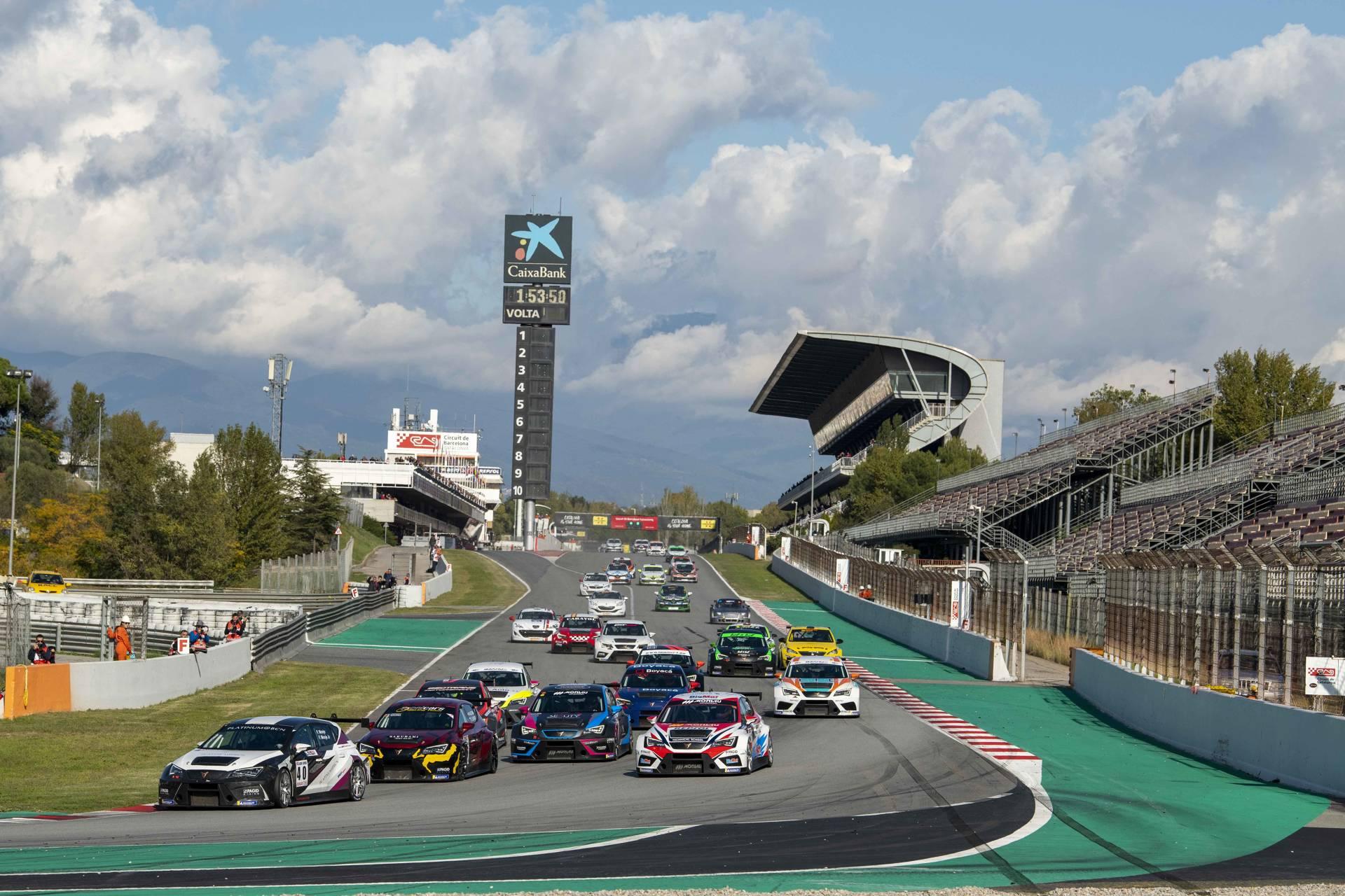 El Circuit de Barcelona-Catalunya acull l'última cita del Campionat de Velocitat