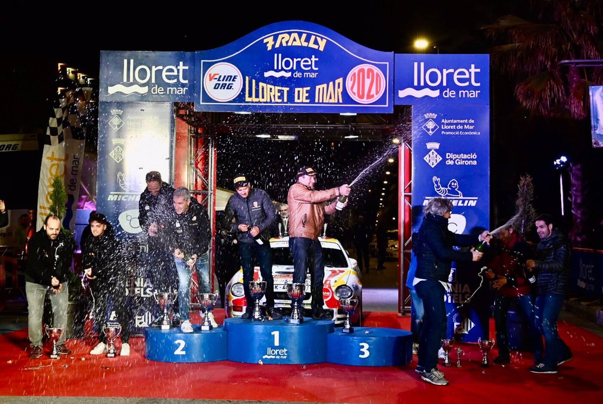 Lloret estrena amb èxit el Campionat català de ral·lis