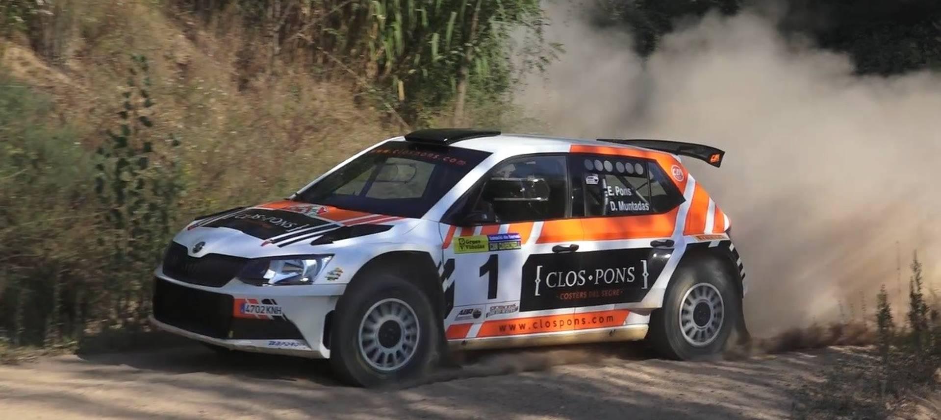 Pons i Muntadas repeteixen triomf al Ral·li Vidreres-Maçanet