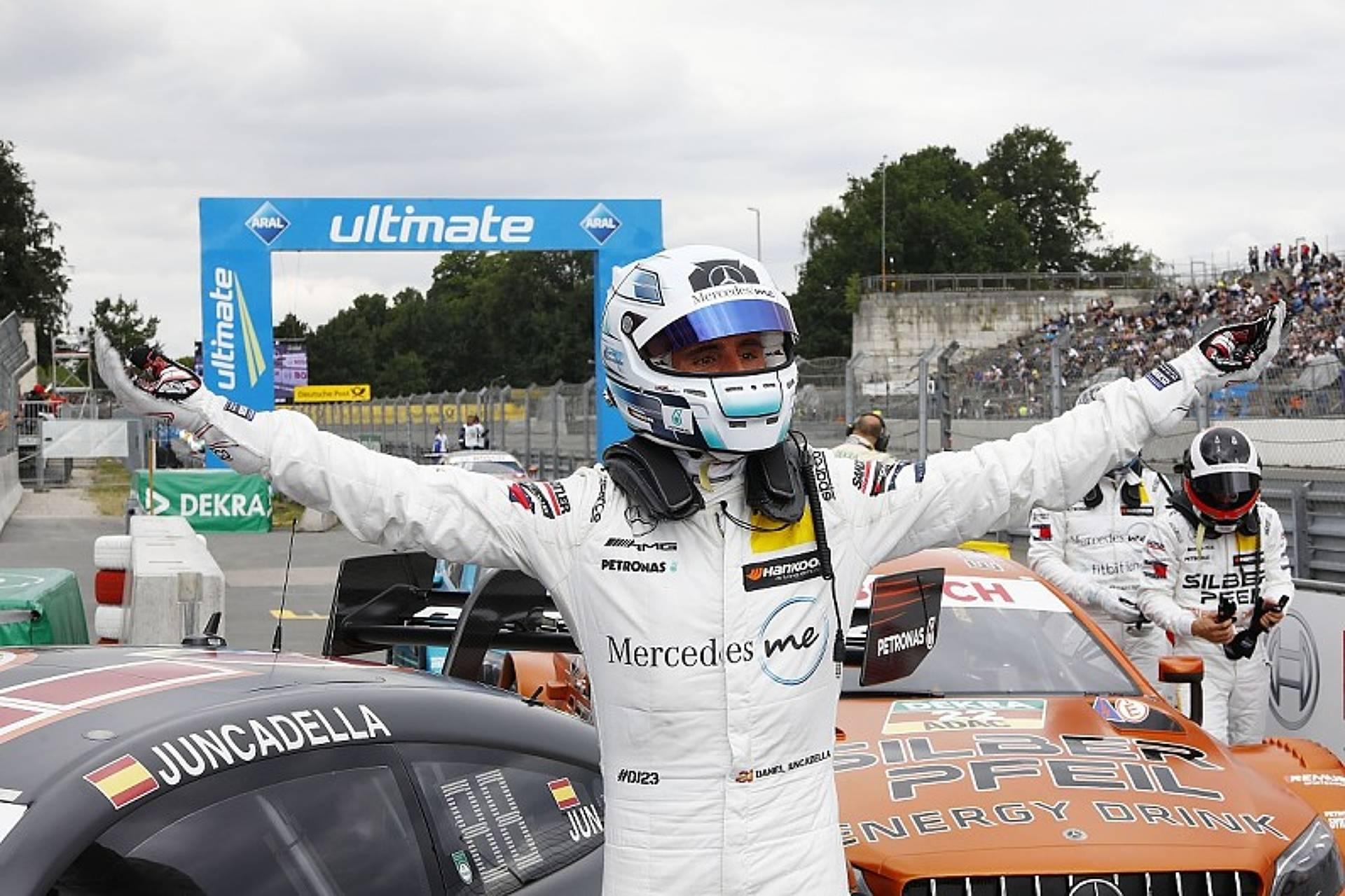 Juncadella, pole i podi al DTM en el circuit de Norisring