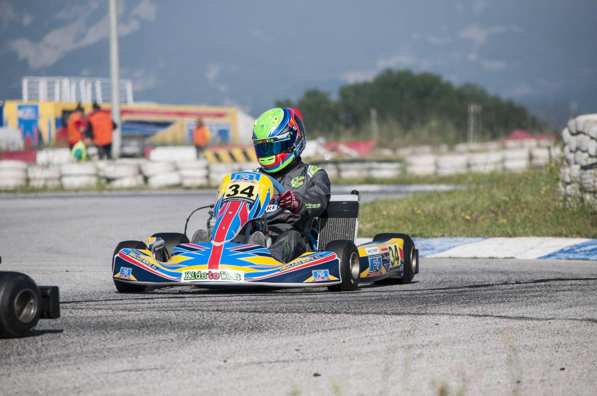 Segona cita del Campionat de Catalunya de kàrting al circuit d'Osona