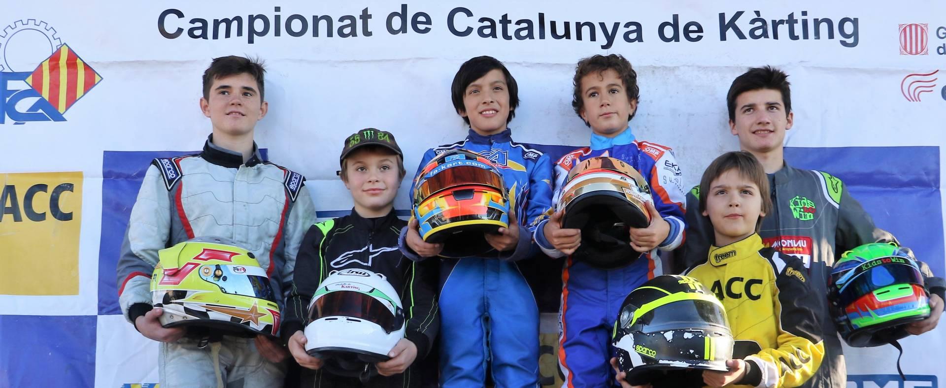 L'última cita a Alcarràs decideix els campionats de Catalunya de kàrting