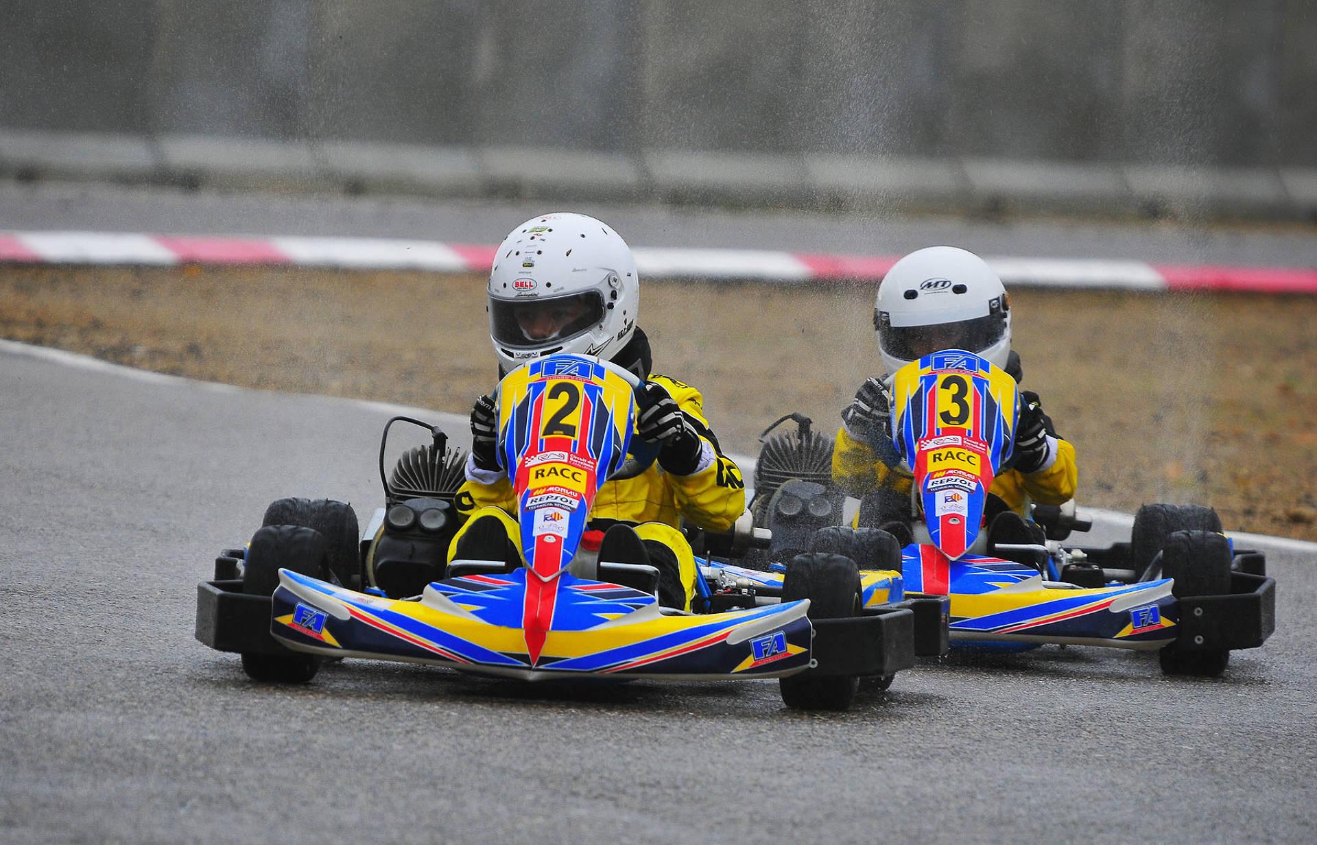El circuit d'Alcarràs tanca la temporada dels Campionats de Catalunya de kàrting
