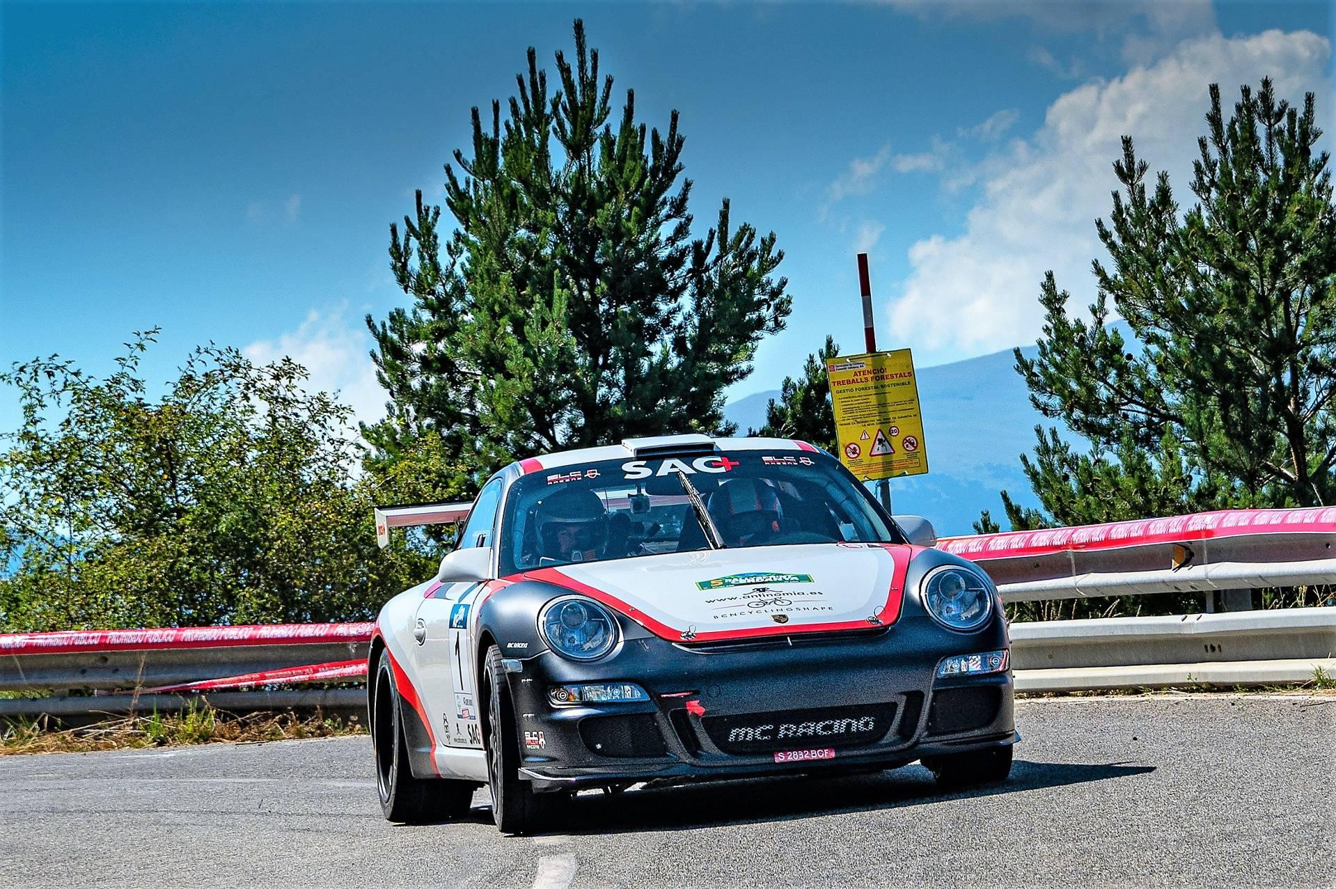 Domènech-Muntadas (Porsche) s'emporten el 5è Ral·lisprint de la Cerdanya
