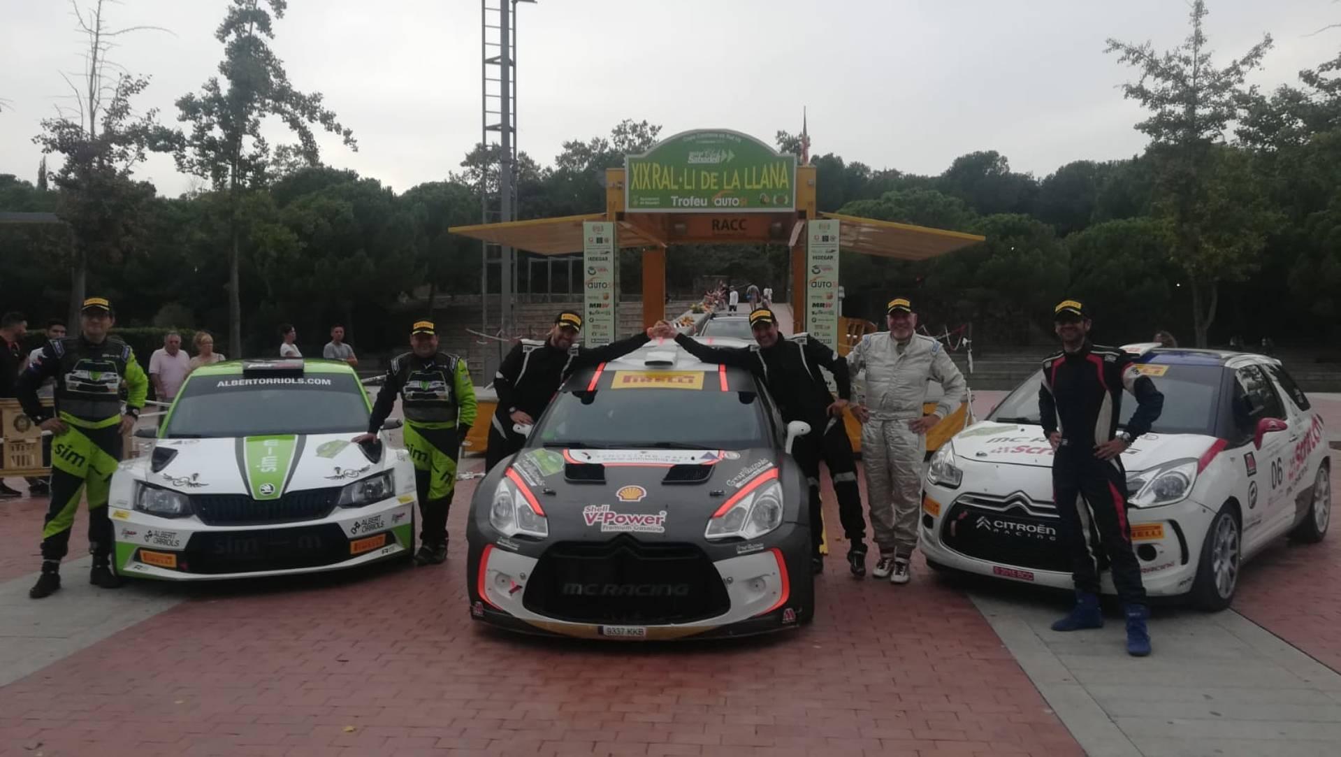 La victòria a la Llana reforça el liderat de Xavier Domènech i Àxel Coronado