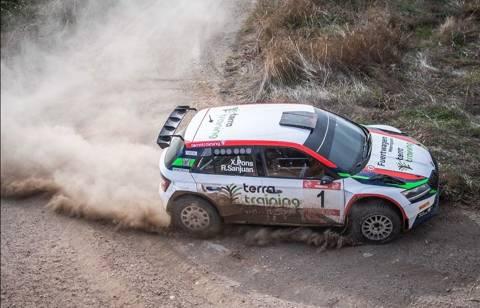 Xevi Pons i Rodrigo Sanjuán guanyen el 1r. Ral·li Memorial Abel Puig