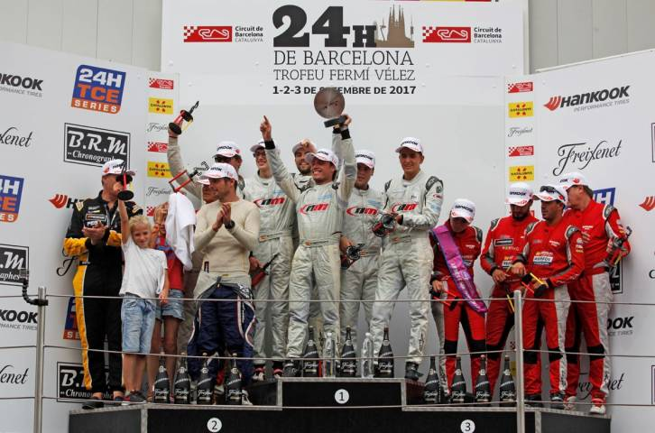L'NM Racing Team fa història a la 19a. edició de les 24 Hores de Barcelona