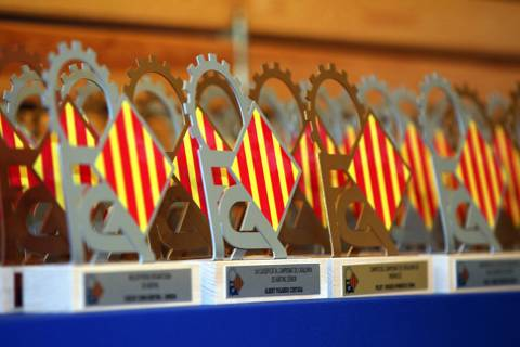 Gala de lliurament de premis FCA - Temporada 2019