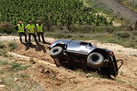 Almacelles s'estrena en una prova del Campionat de Catalunya de trial 4x4