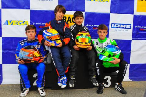 El circuit d'Alcarràs tanca la temporada del Campionat de Catalunya de kàrting